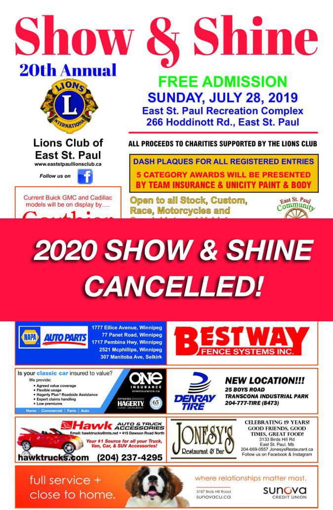 2020 Show & Shine